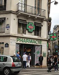 Um tour pelas farmácias baratas de Paris