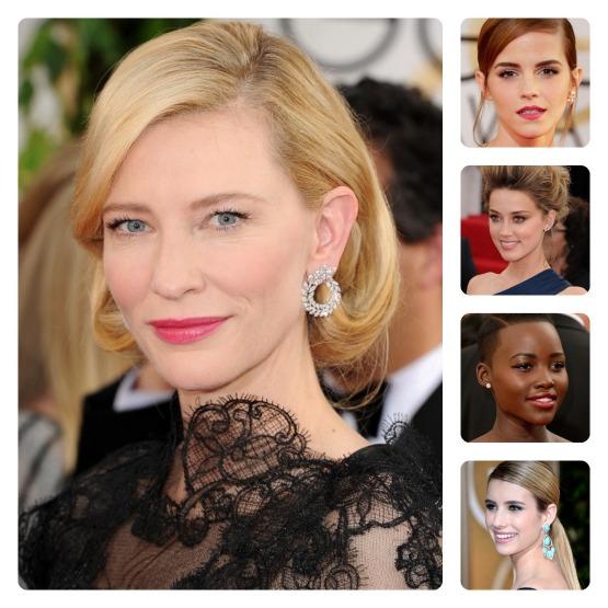 beleza-beauty-editor-acontece-cate-blanchett-emma-watson-amber-heard-lupita-nyongo-emma-roberts-maquiagem-cabelo-golden-globe-2014-looks-de-beleza-abre-ok