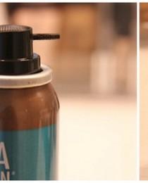 Spray Rita Hazan: cor temporária para cobrir brancos e raízes