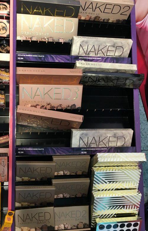 Em pouco tempo as Nakeds já estavam pela metade!