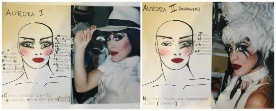 Um dos musicais de Claudia onde Henrique assinou a maquiagem