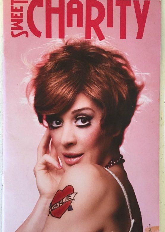 Trabalho com Claudia no musical Sweet Charity em 2006
