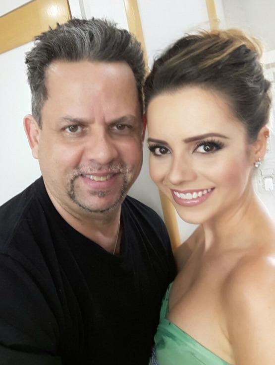 Henrique com Sandy em recente trabalho da cantora