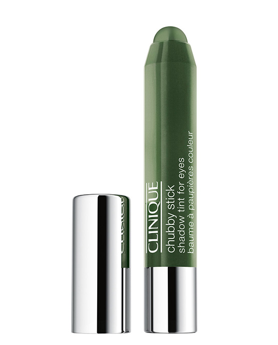 beleza-beauty-editor-maquiagem-cores-e-tendencias-verdes-clinique-chubby-stick-shadow-tint-for-eyes-mighty-moss