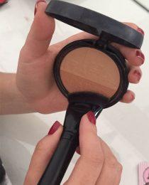 Resenha de produto: pincel de maquiagem 21 Vult Contorno por #4amigas