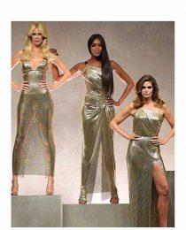 Veludo molhado e a volta do brilho anos 1970: moda e beleza do look