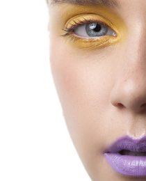 Maquiagem: choque de cor