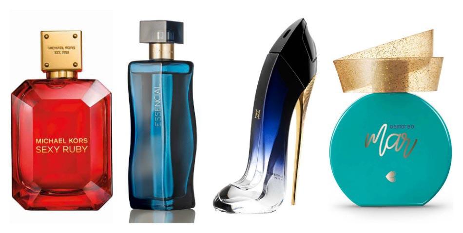 Novos perfumes no ar