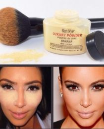 Ben Nye Luxury Powder Banana: o pó para fazer baking da Kim Kardashian