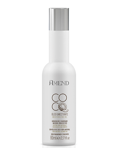 óleo umectante capilar Amed Coco