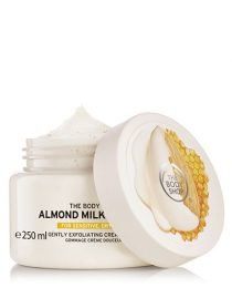 Resenha de produto: exfoliante The Body Shop Almond Milk & Honey