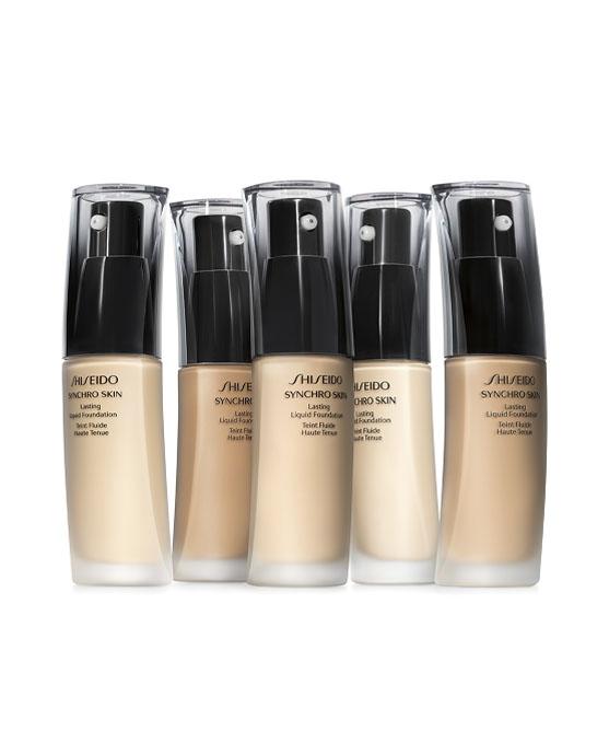 """""""base alta cobertura efeito natural Shiseido Synchro"""""""