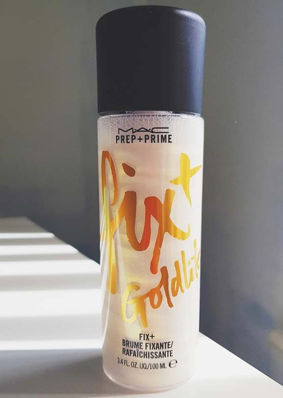 """fixador de maquiagem MAC Fix Plus Goldlite"""