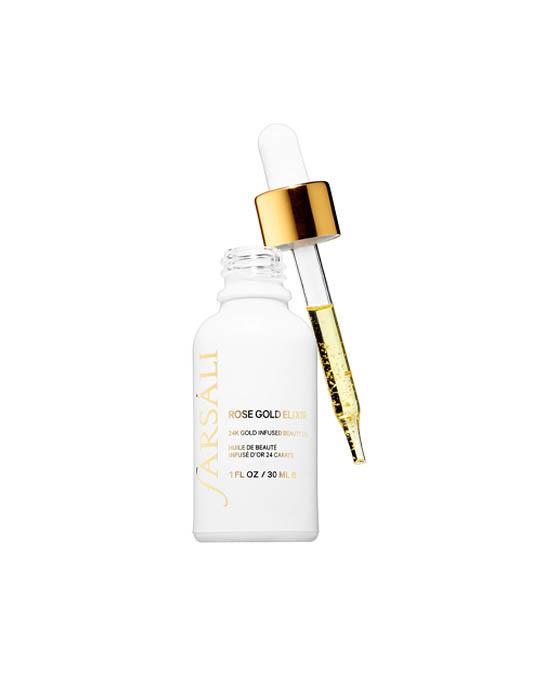 """""""óleo de tratamento facial Farsáli Rose Gold"""""""