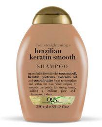 Resenha de produto: xampu reestruturante OGX Brazilian Keratin Smooth