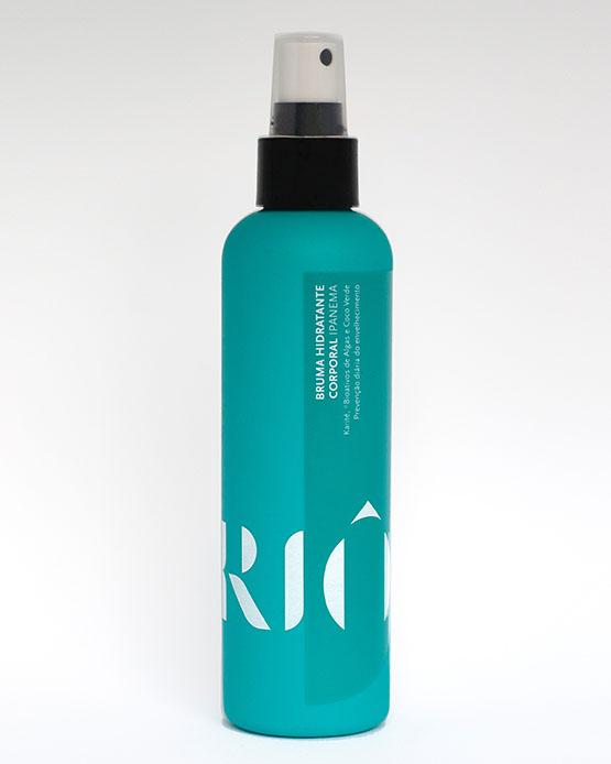 hidratante corporal em spray com manteiga de karité Riô