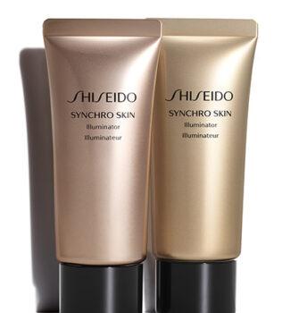 iluminador para maquiagem Shiseido Synchro Skin