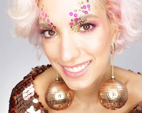 Maquiagem para Carnaval produtos Too Faced Lia Weiz