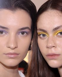 Beleza: maquiagem com cor na pele, nos lábios e nos olhos na SPFW