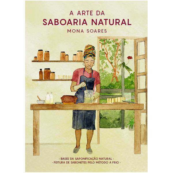 Livro de saboaria feita com cosmética natural