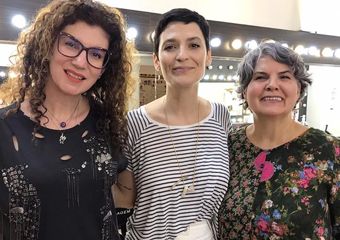 Maria Cecília Prado, Vanessa Rozan e Vania Rozan