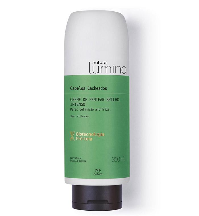Melhores produtos para cabelo cacheado Natura Lumina