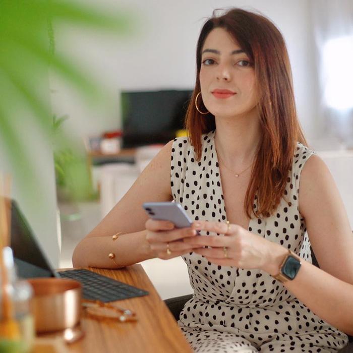 Lia Camargo blogger de beleza