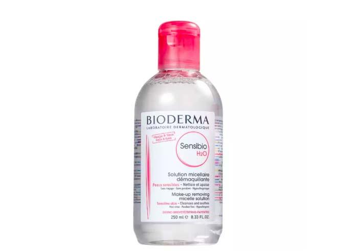 demaquilante água micelar sensibio bioderma