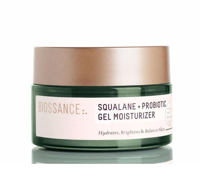 hidratante gel Biossance Squalane Probiotic