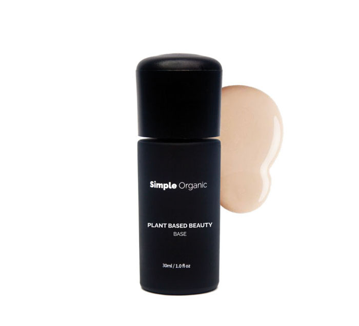 base de maquiagem orgânica Simple Organic