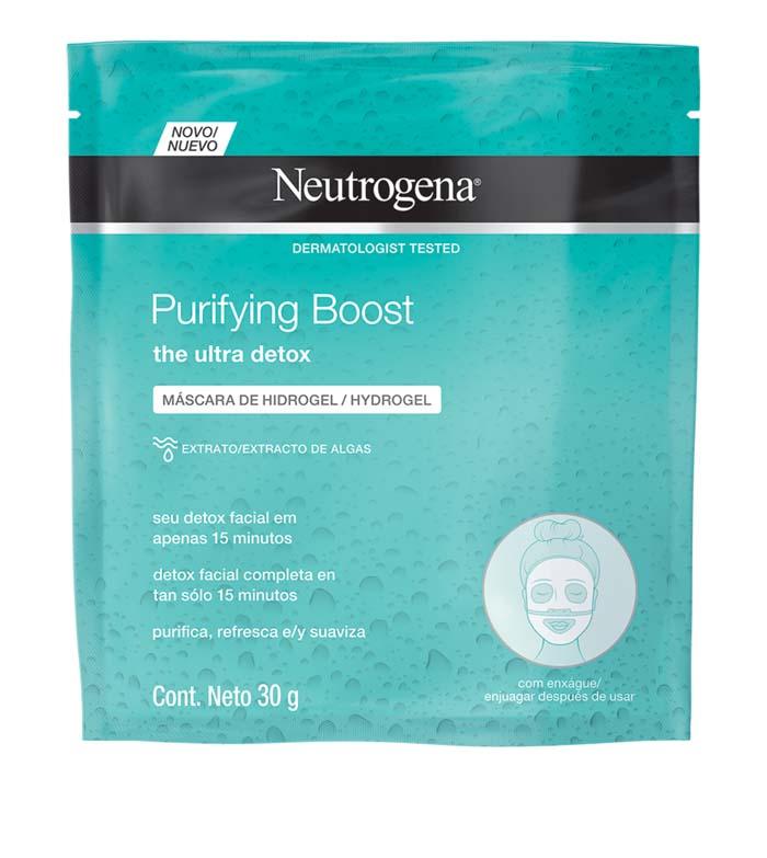 máscara detox para pele normal a oleosa Neutrogena