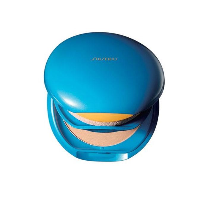 protetor solar em pó compacto shiseido