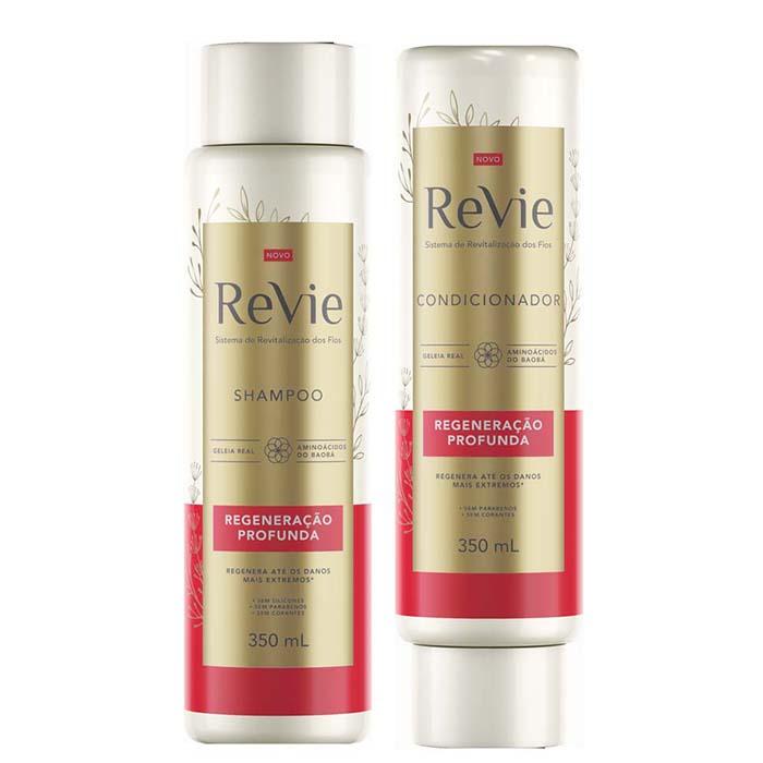 Shampoo para cabelo ressecado danificado Revie