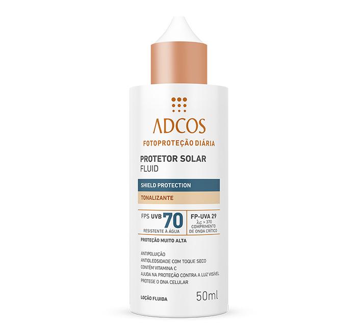 Protetor solar fluido Adcos
