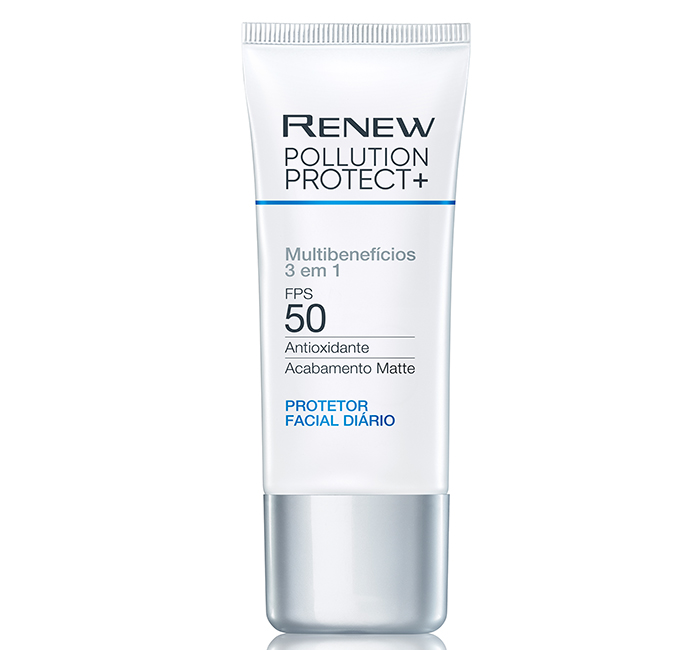 Protetor solar Avon Renew Pollution Protect