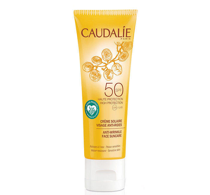 Protetor solar facial Caudalie antioxidante