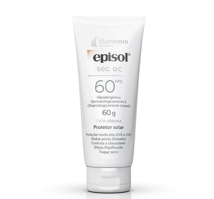 Protetor solar para pele oleosa Episol Sec OC