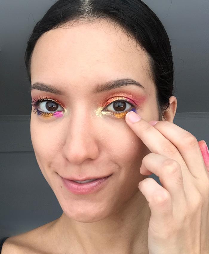 Passo a passo para maquiagem de Carnaval