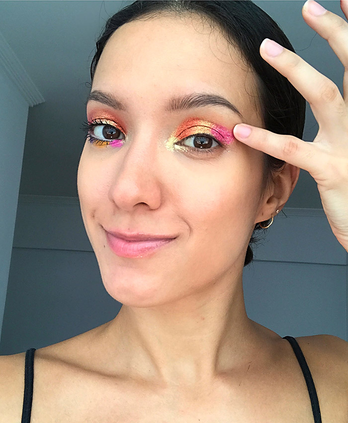 maquiagem com maquiadora Lia Weiz