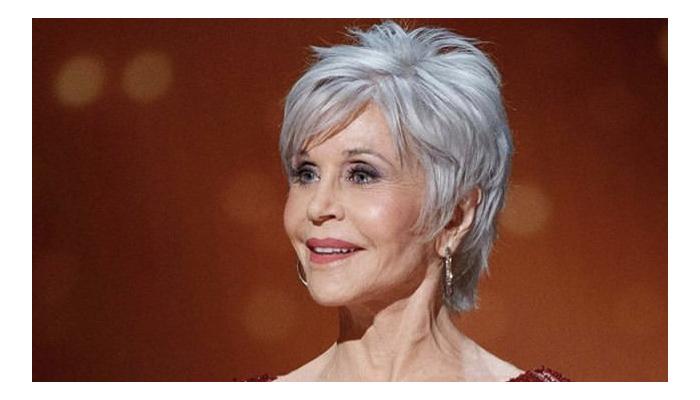 Jane Fonda cabelo branco Oscar