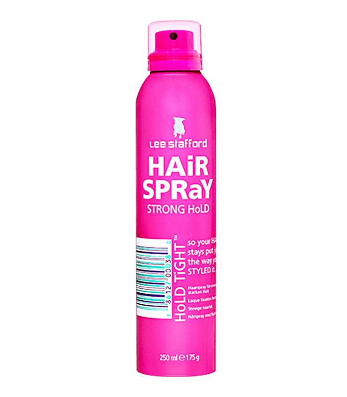 spray para fixar penteados Lee Sttaford