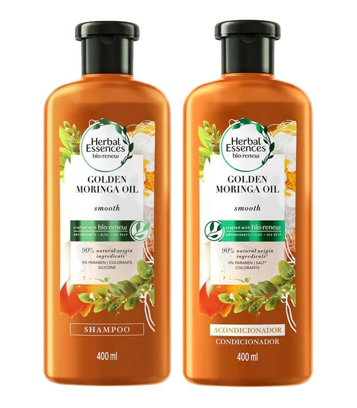 shampoo com óleo de moringa Herbal Essences