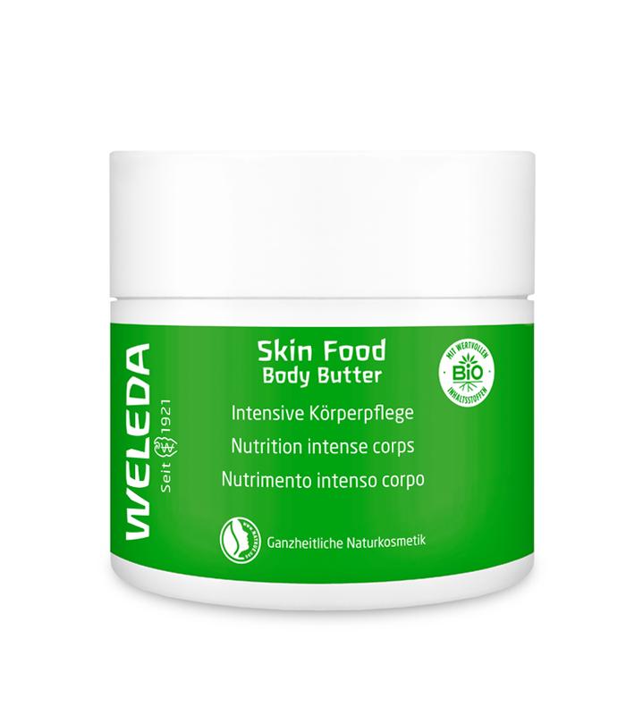 Body Butter Skin Food Weleda melhores produtos de beleza naturais