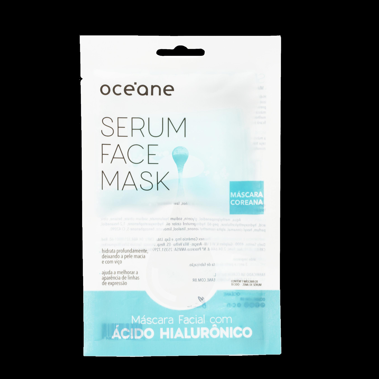 máscara para pele seca com ácido hialurônico Océane