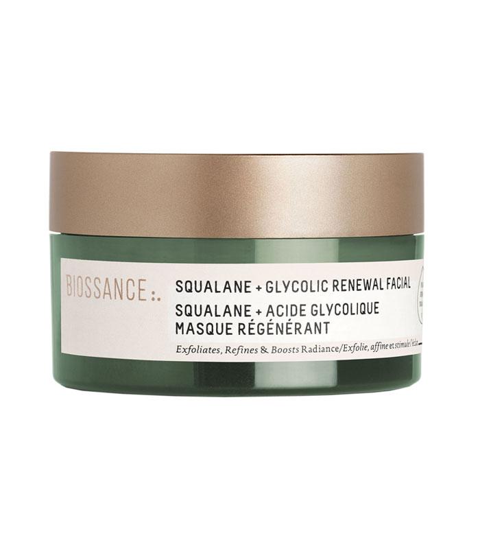 máscara renovadora com ácidos Biossance