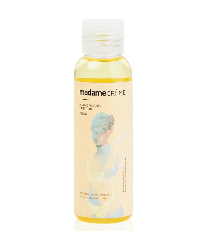 óleo de tratamento corporal Madame Crème