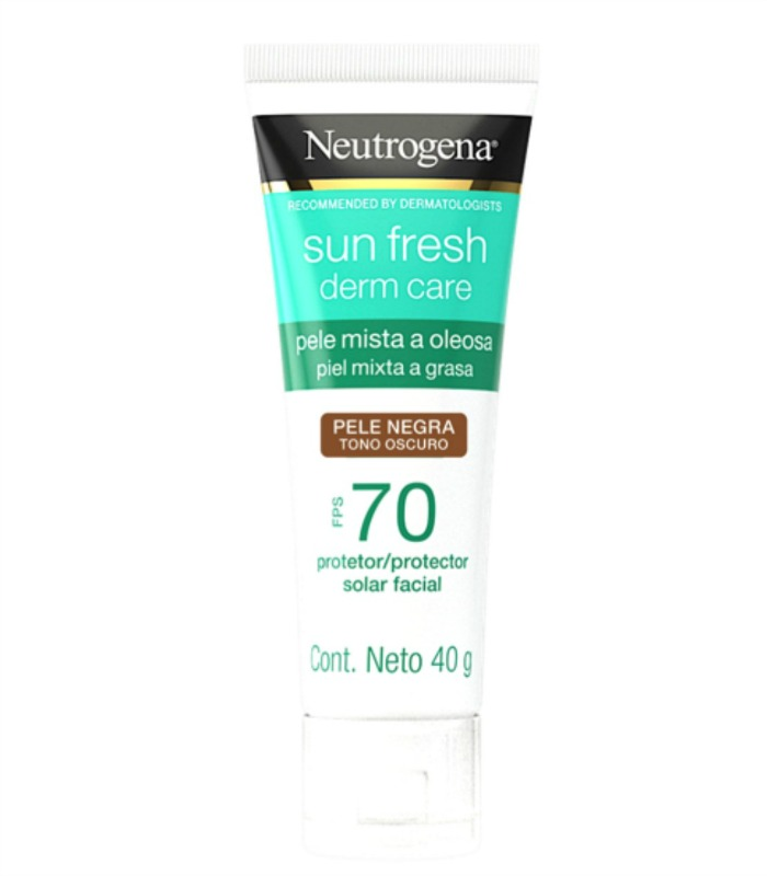 filtro solar para pele oleosa Neutrogena