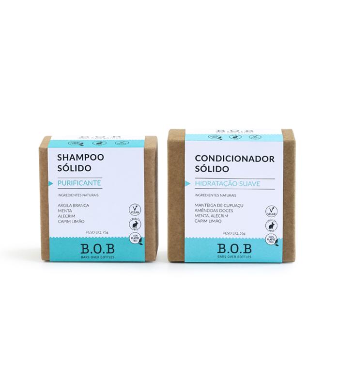 shampoo sólido BOB melhores produtos de beleza naturais
