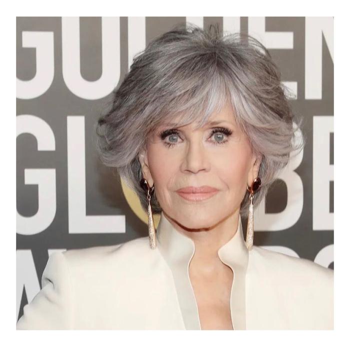 Jane Fonda nos Golden Globes 2021